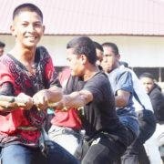 Suasana Lomba HUT RI ke-75 Pesantren Modern Misbahul Ulum